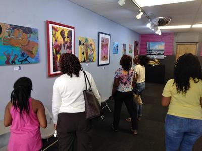 Artist Jess Johnson to exhibit 'Jazz, Rhythm & Blues' at BESS gallery