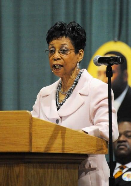 Hammond's first black teacher speaks of need for tenacity during MLK event