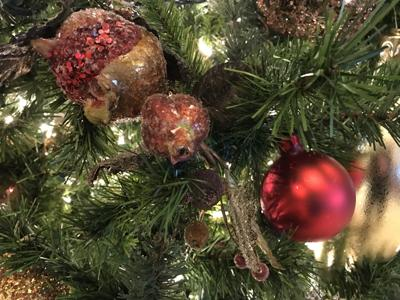 Christmas decorations stock