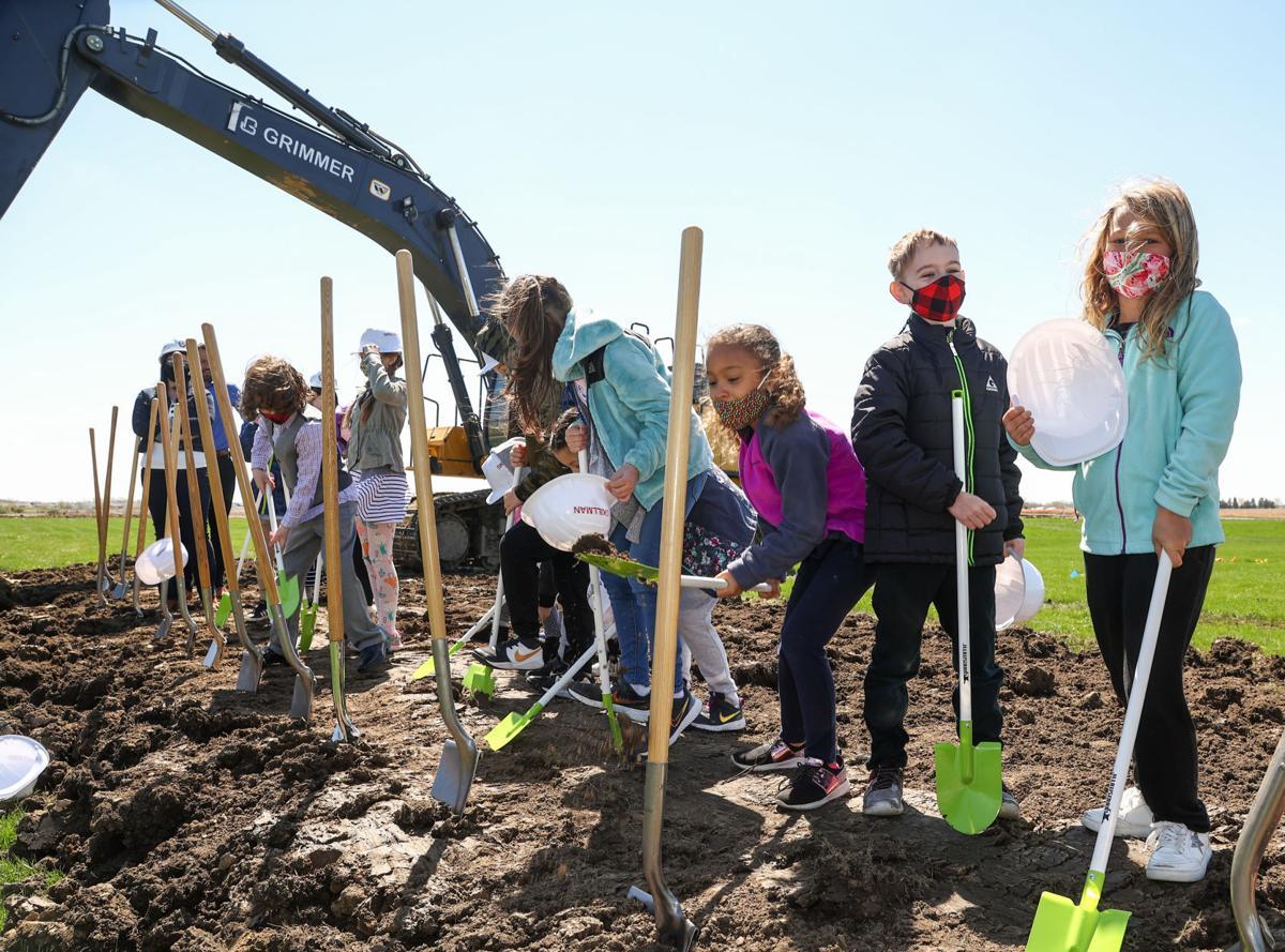 Hanover Community School Corp. groundbreaking