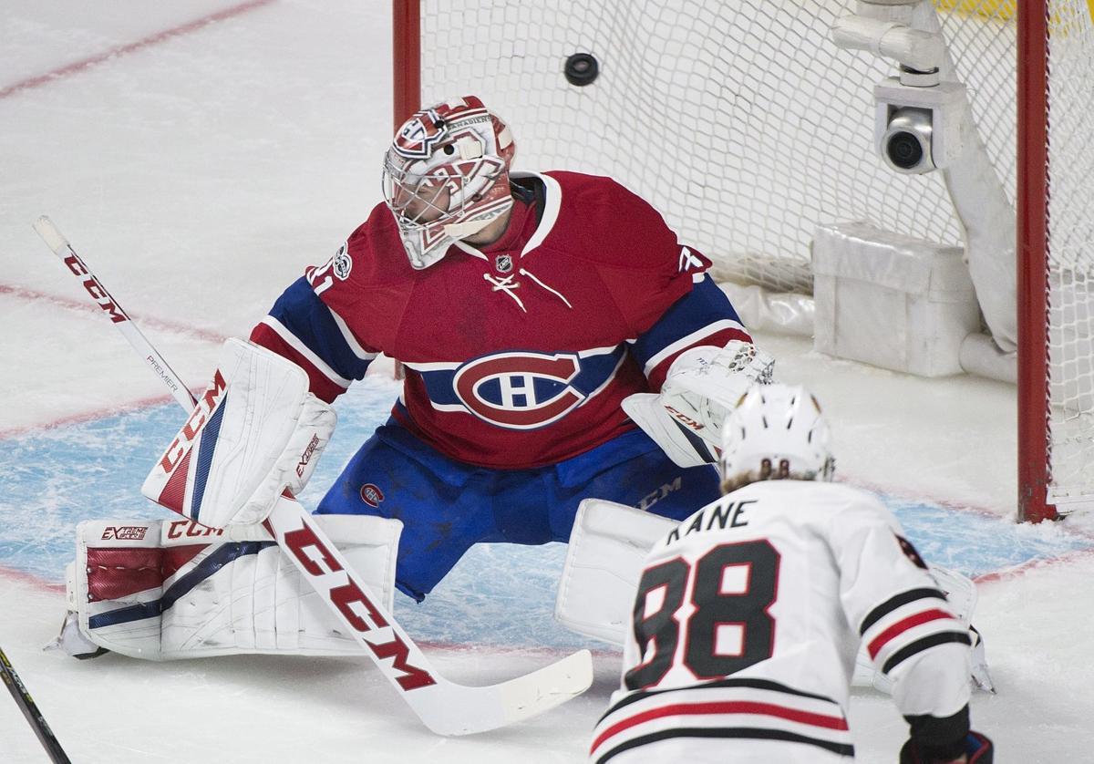 Blackhawks Canadiens Hockey