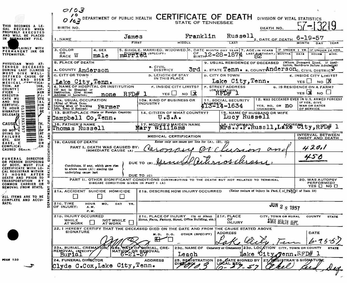 Remember your roots death certificates remember your roots remember your roots death certificates xflitez Choice Image