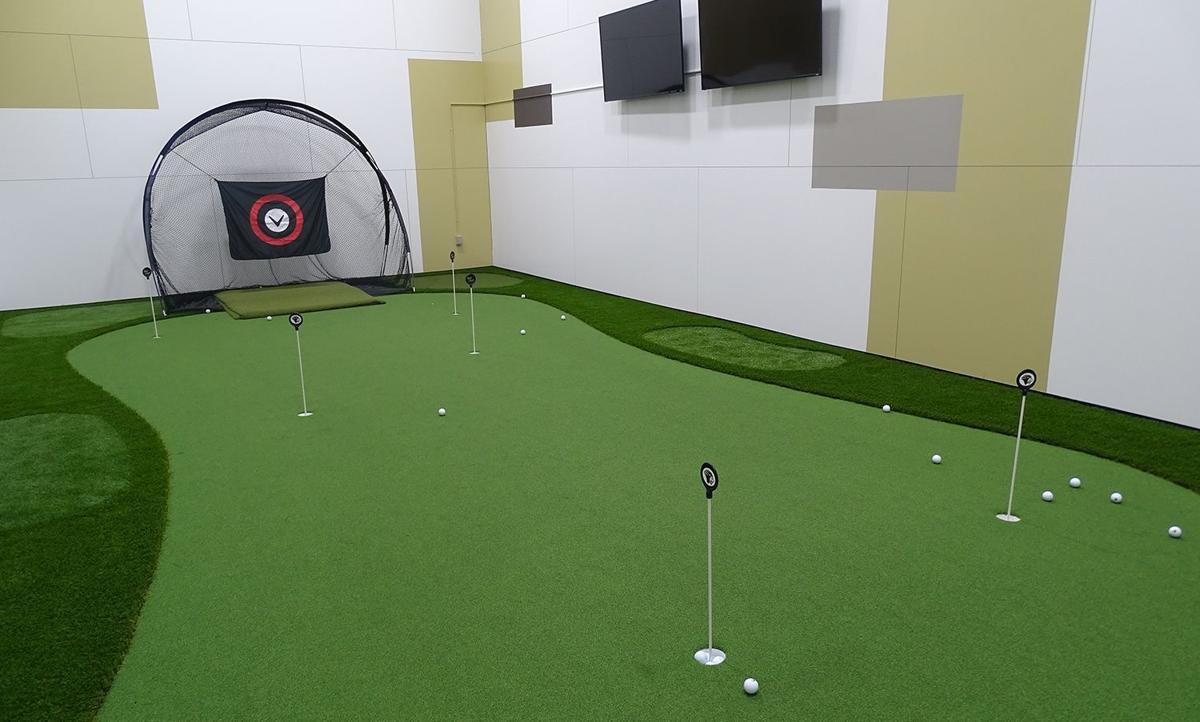 The new $35,000 Lalaeff & Fischer PNW Golf Training Cente