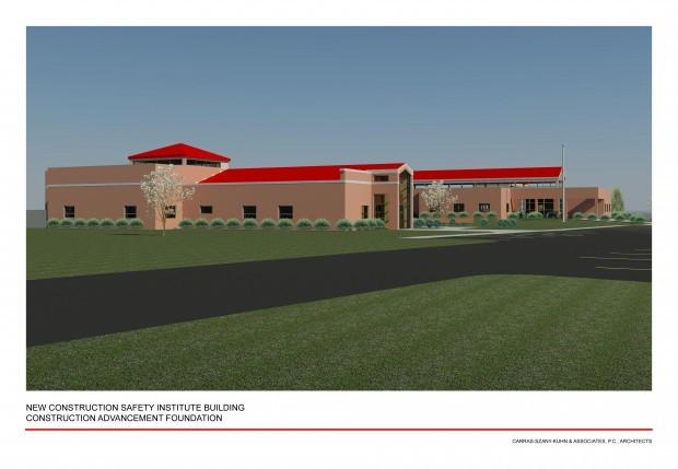 CAF Center rendering