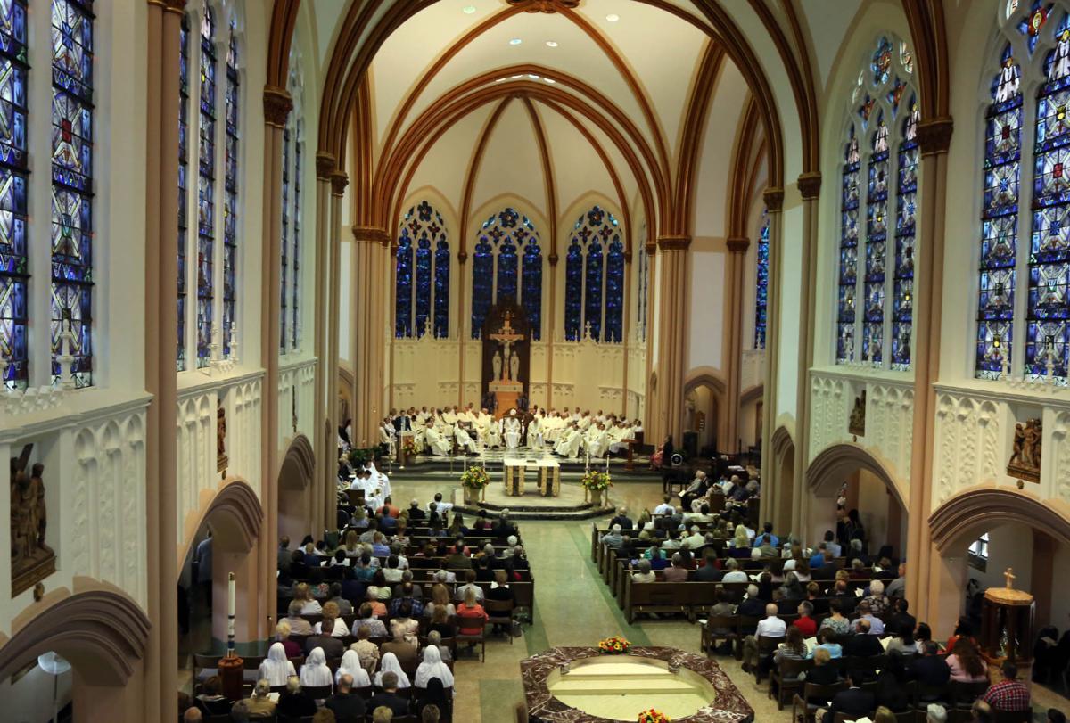 Jeff Burton ordained a priest