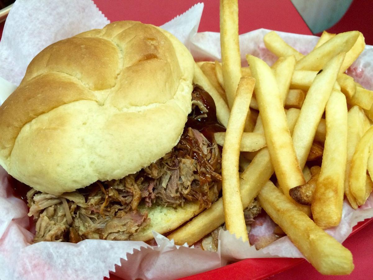 TASTE TEST: BBQ pulled pork sandwich