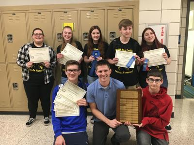 Valparaiso High School Latin Club attends Indiana Junior Classical League State Convention
