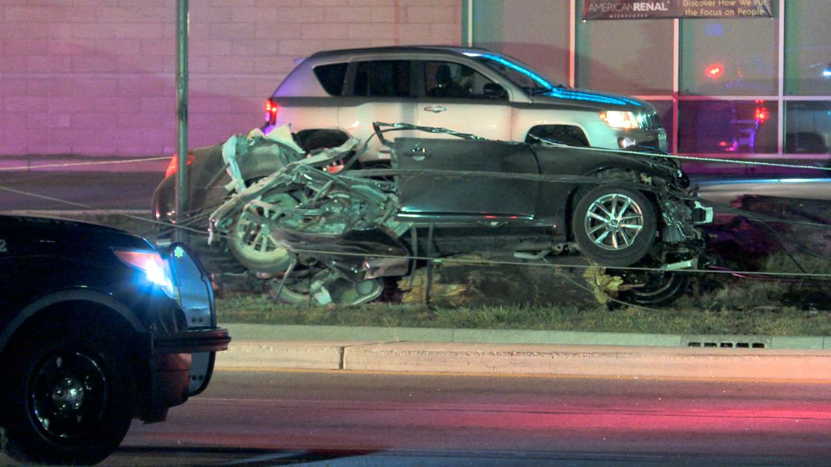 UPDATE: 1 dead after car collides with semi truck, authorities say