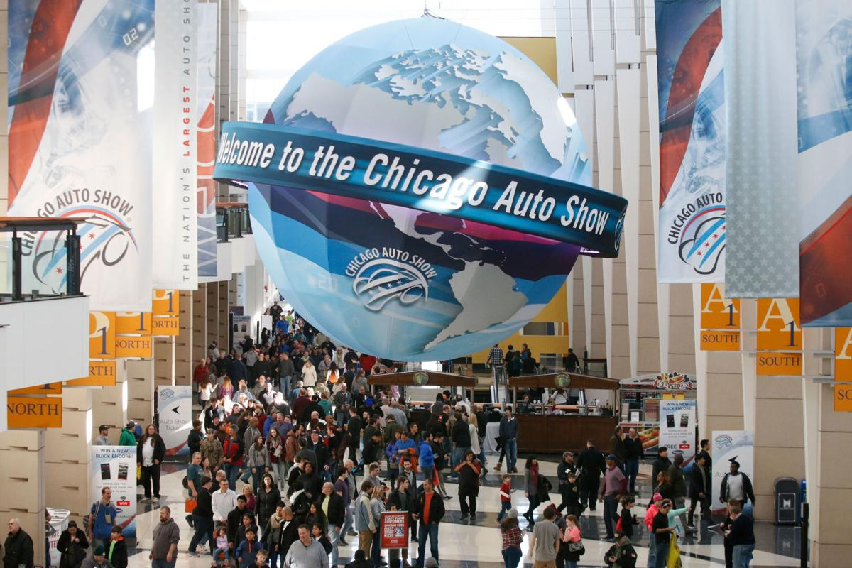 Chicago Auto Show takes 1,000 cars for a 10-day spin in McCormick Place