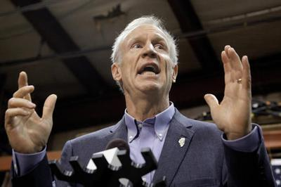 Former Ill. Gov. Bruce Rauner apparently failed to 'rip the economic guts out of Indiana'