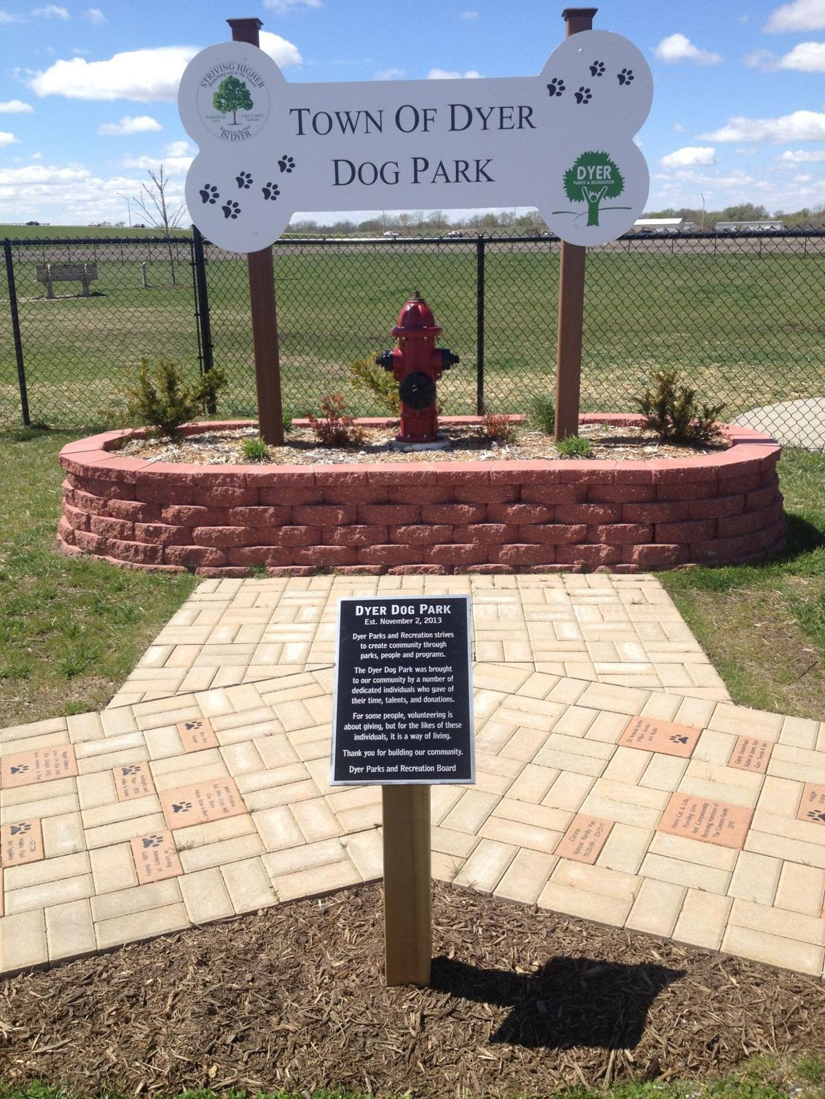Dyer parks provide recreational opportunities for residents—and their dogs