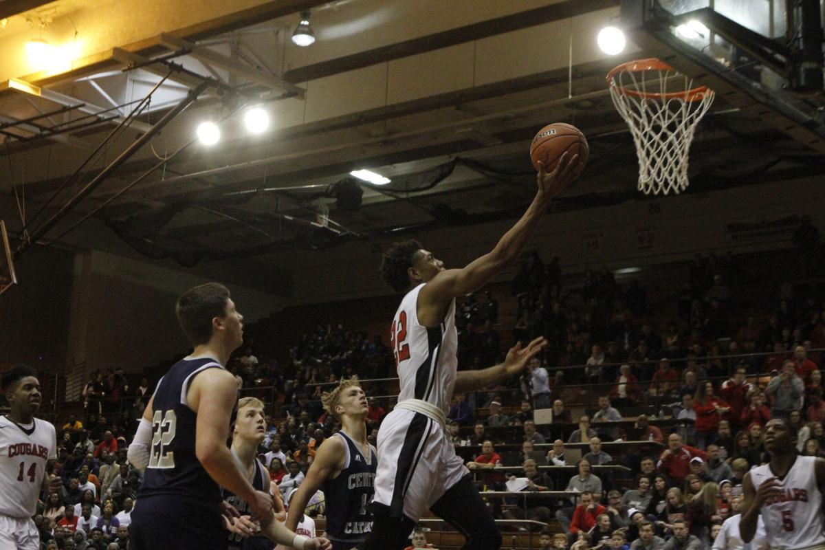 21st Century vs. Lafayette CC at boys basketball semistate (copy)
