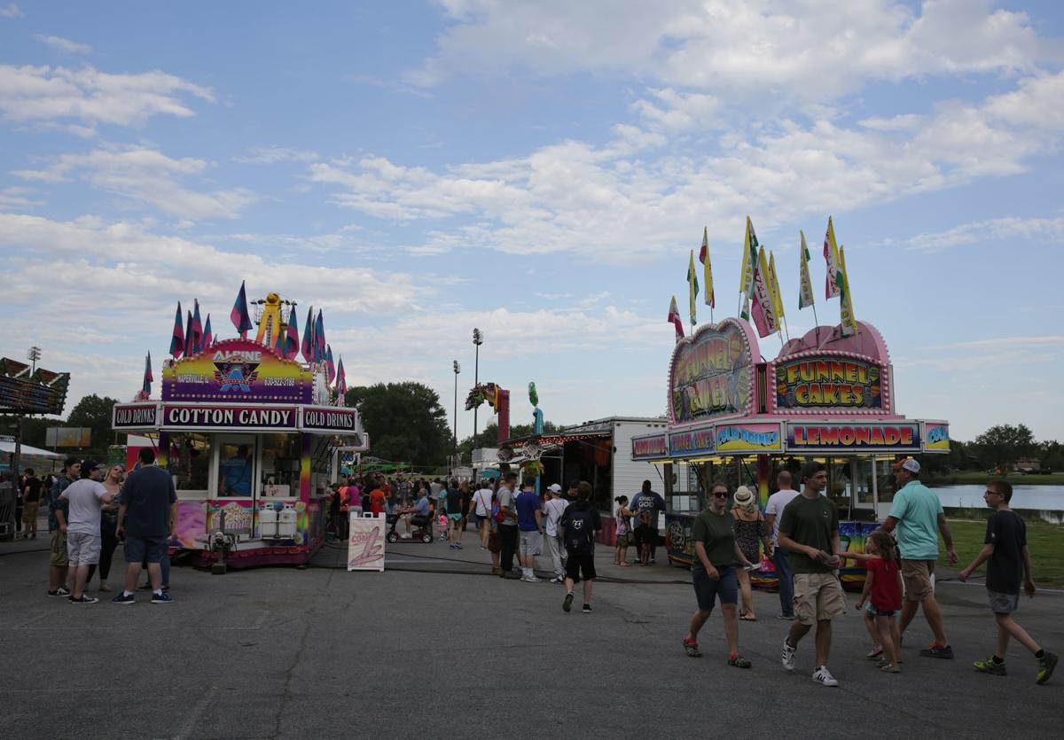 Dyer fest kicks off summer season with games, rides, entertainment at 28th annual event