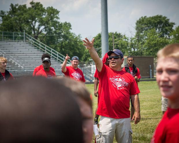 Bob Padjen, T.F. South defensive coordinator (copy)