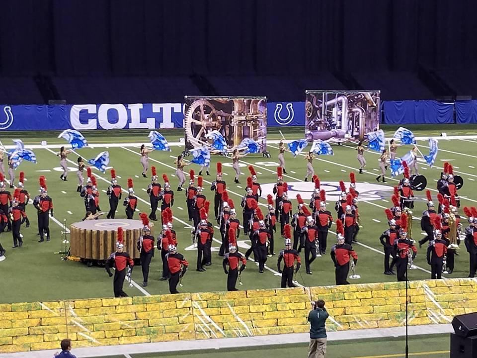 Munster High School marching band places 4th at state finals