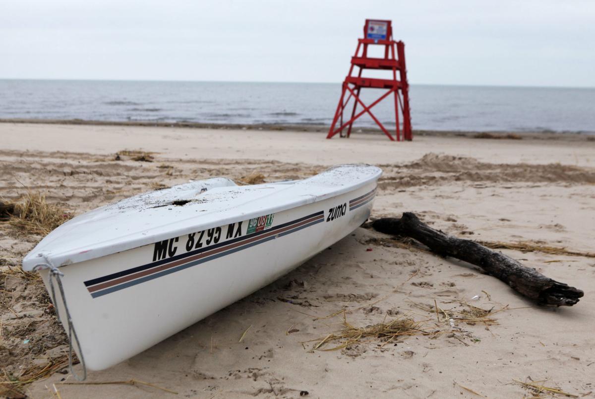 Lake Street Beach cleanup