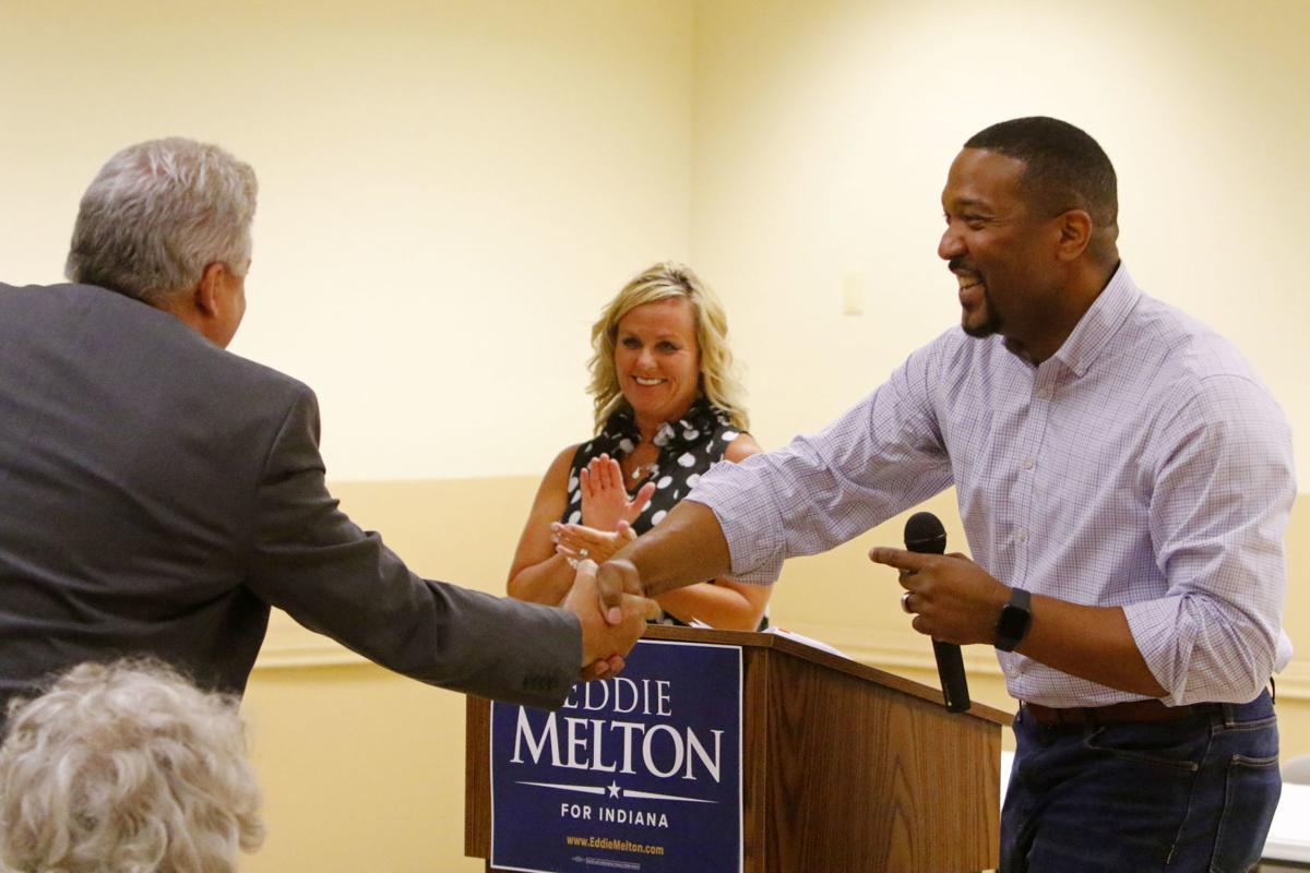 Eddie Melton & Jennifer McCormick statewide listening tour