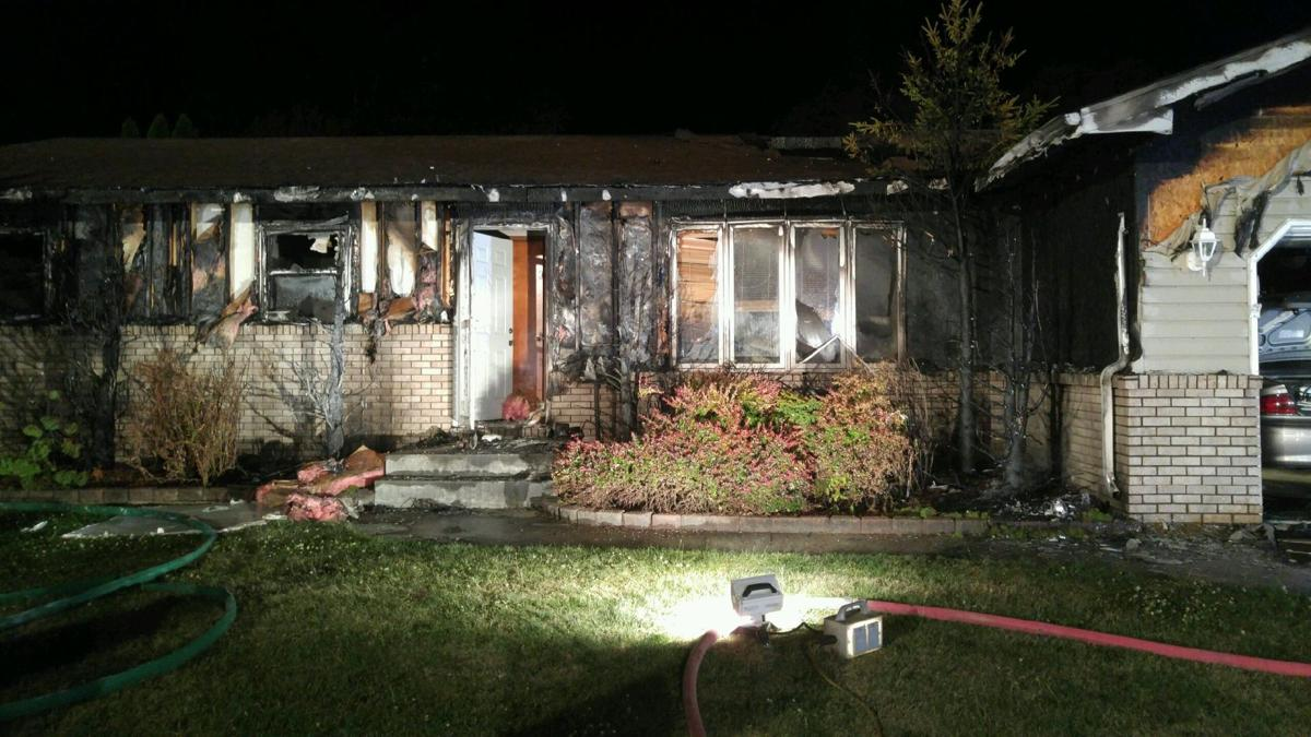 Errant Firework Significantly Damages Portage Home