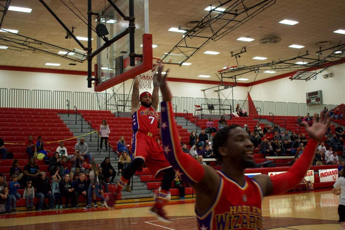 Portage Township Education Foundation fundraises with the Harlem Wizards