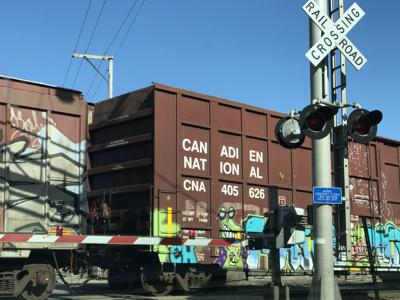 Freight train stock