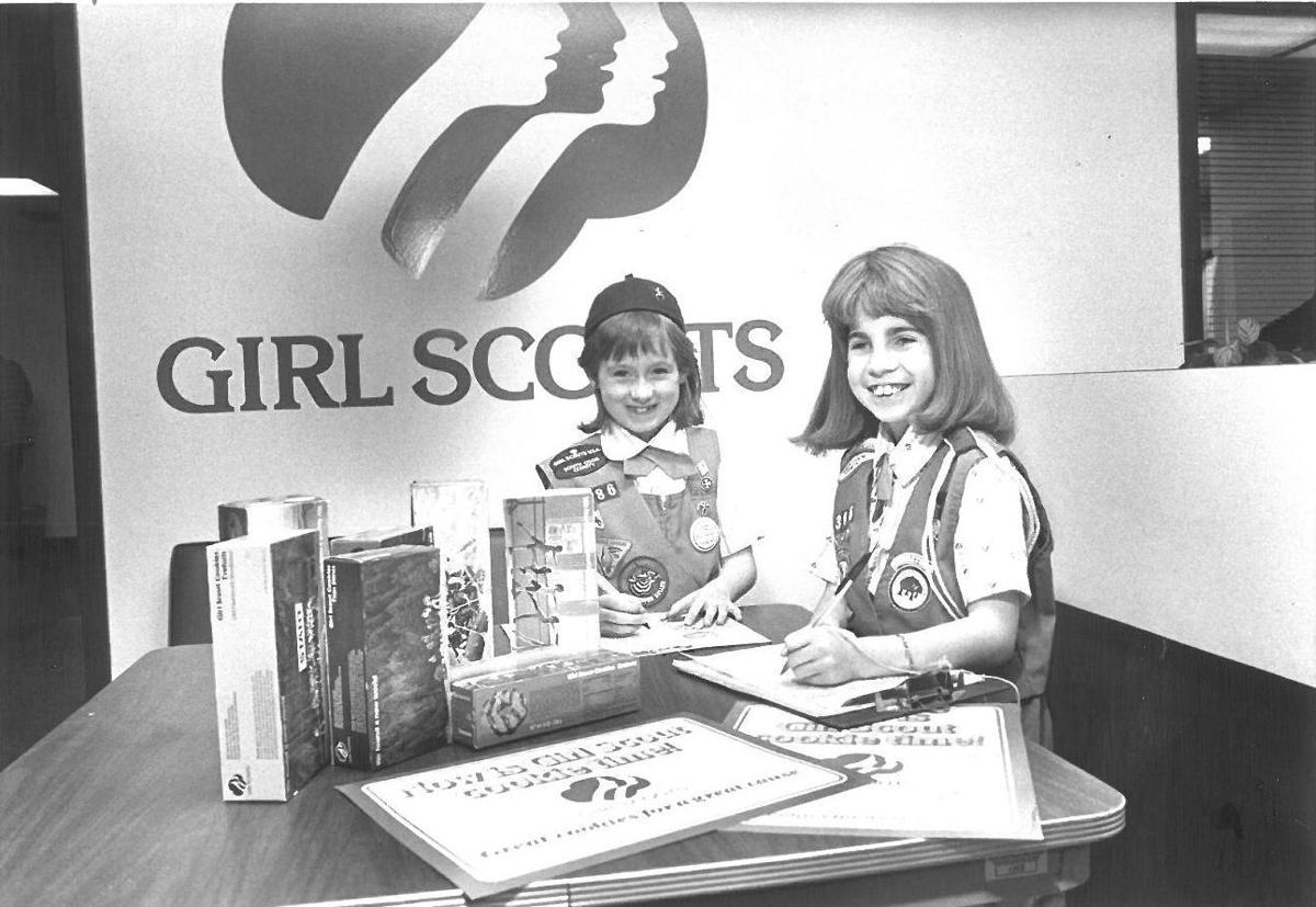 gallery local girl scouts sell cookies digital