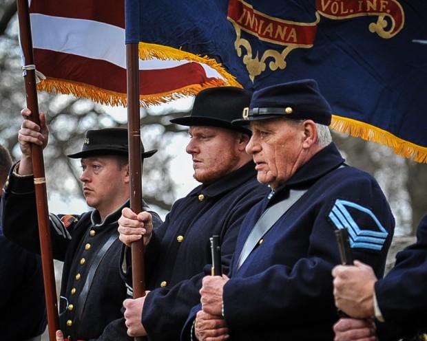 Oak Hill Cemetery ceremony focuses on region Civil War veterans