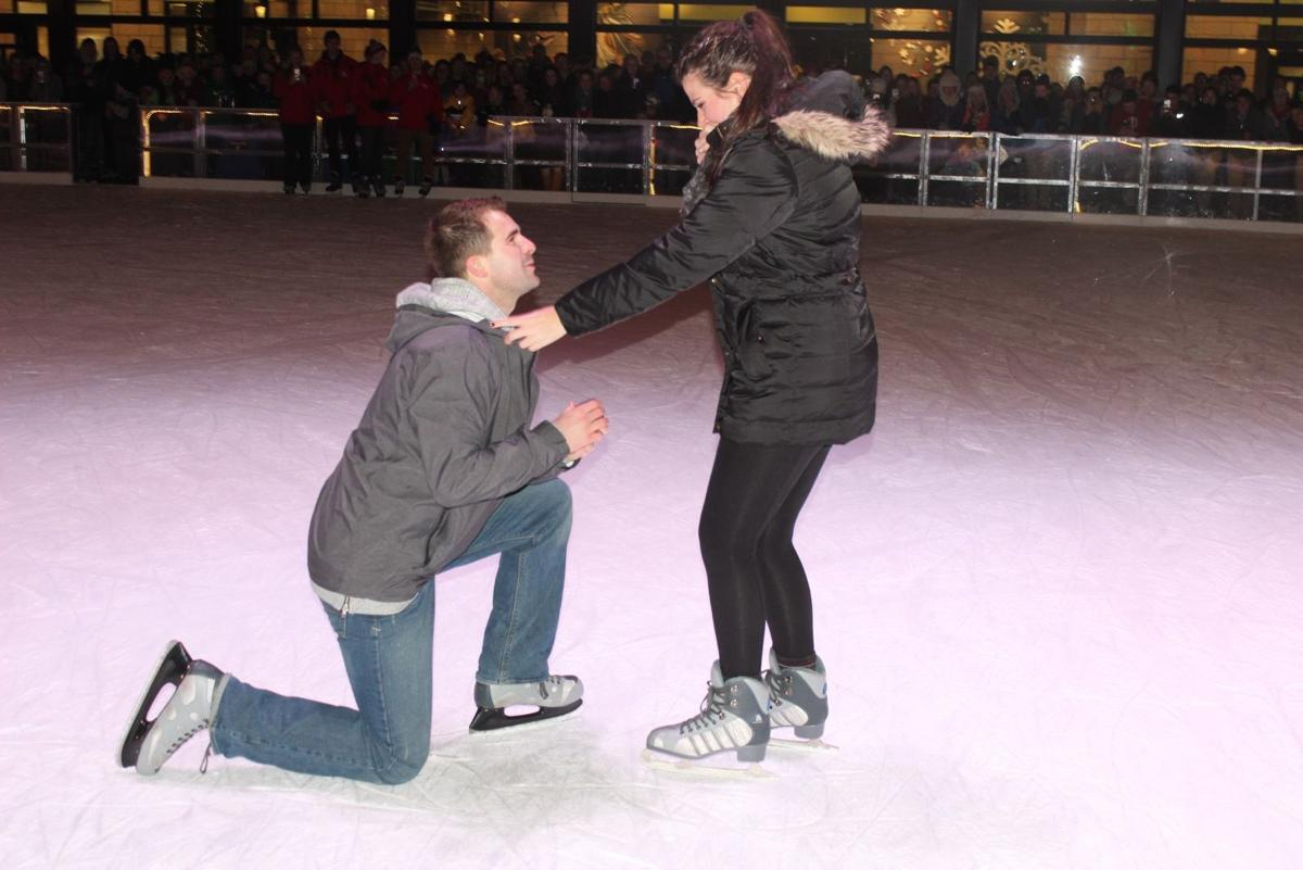 Valpo's ice rink has been an engaging experience