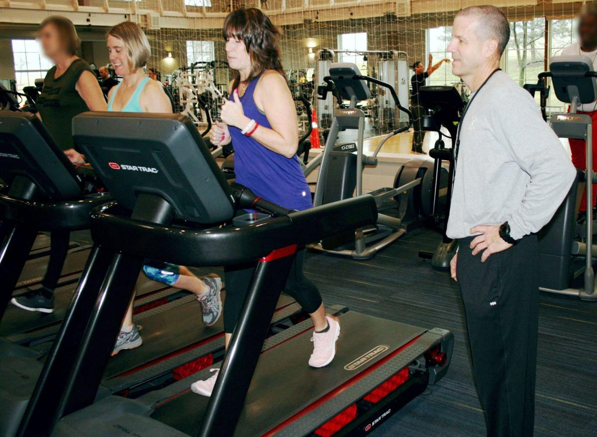 Community Hospital Fitness Pointe adds new treadmills that are easier on joints