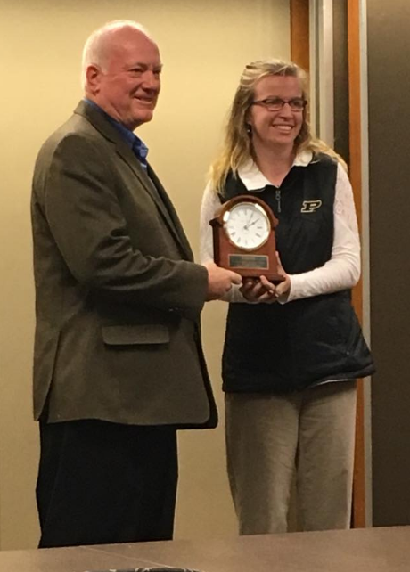 South Newton ag teacher recognized by Purdue Agriculture Education