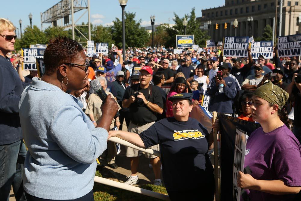 U.S. Steel asks USW for two-tier system, big concessions