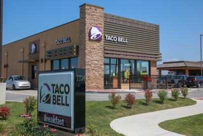 Taco Bell giving everyone a free Dorito Locos taco today