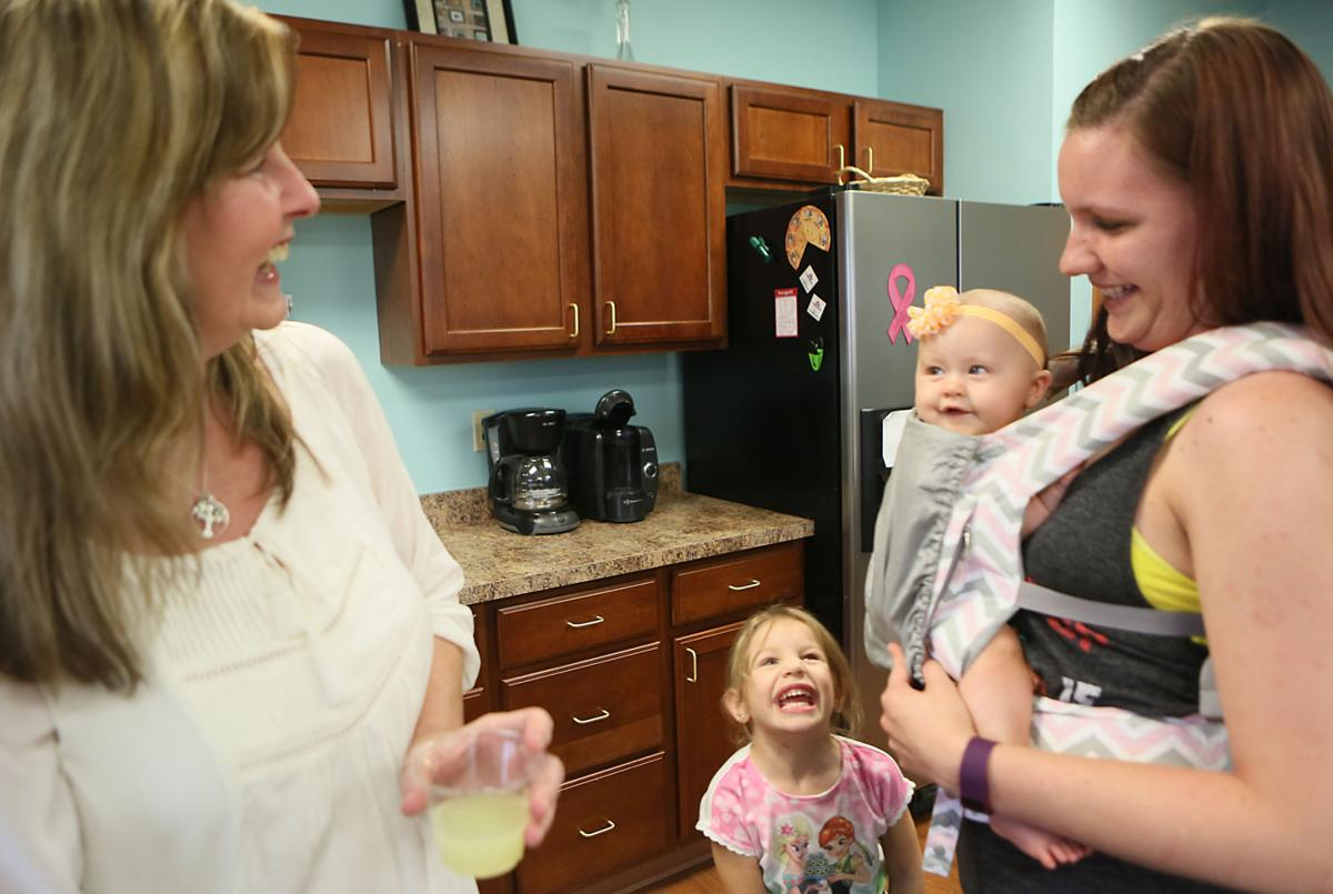 Crown Point OB/GYN has collected 6000 ounces of breast milk in the year it has been collecting.