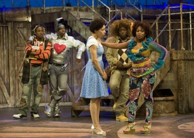 """""""The Wiz"""" at Theatre at the Center in Munster, Ind."""