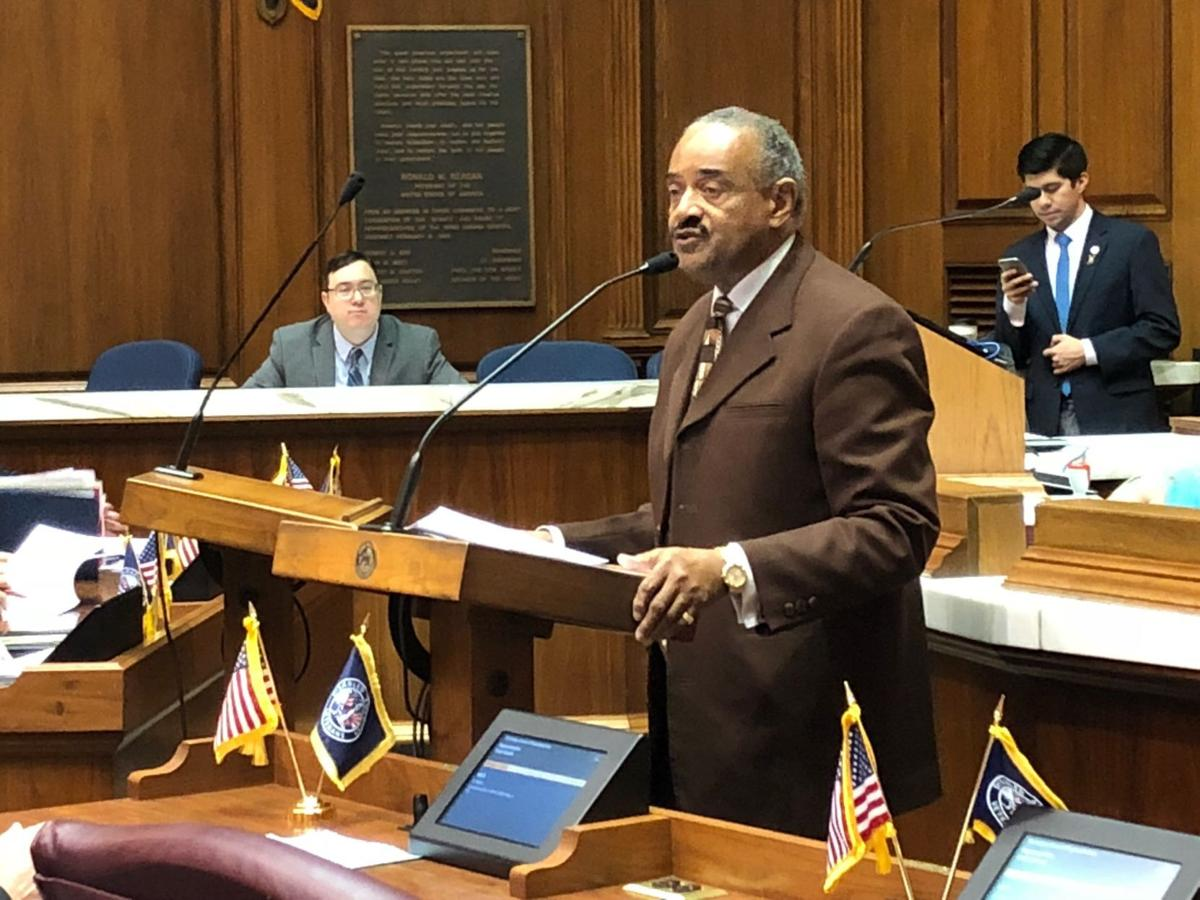 State Rep. Vernon Smith, D-Gary, leads Indiana House remembrance of Martin Luther King, Jr.