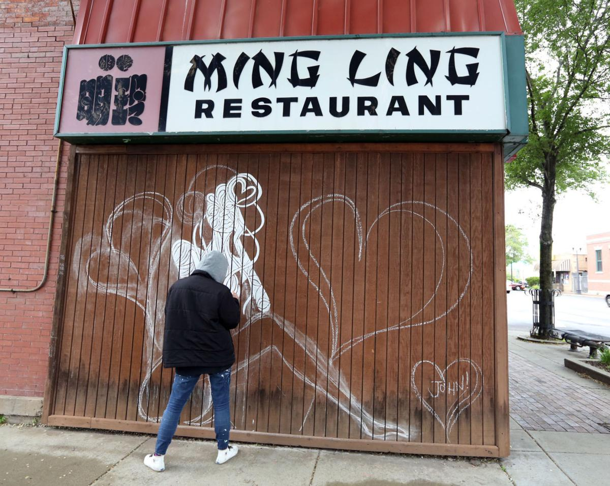 "Chicago Graffiti artists Mario ""Zore"" Gonzalez Jr,  and ZorZorZor"