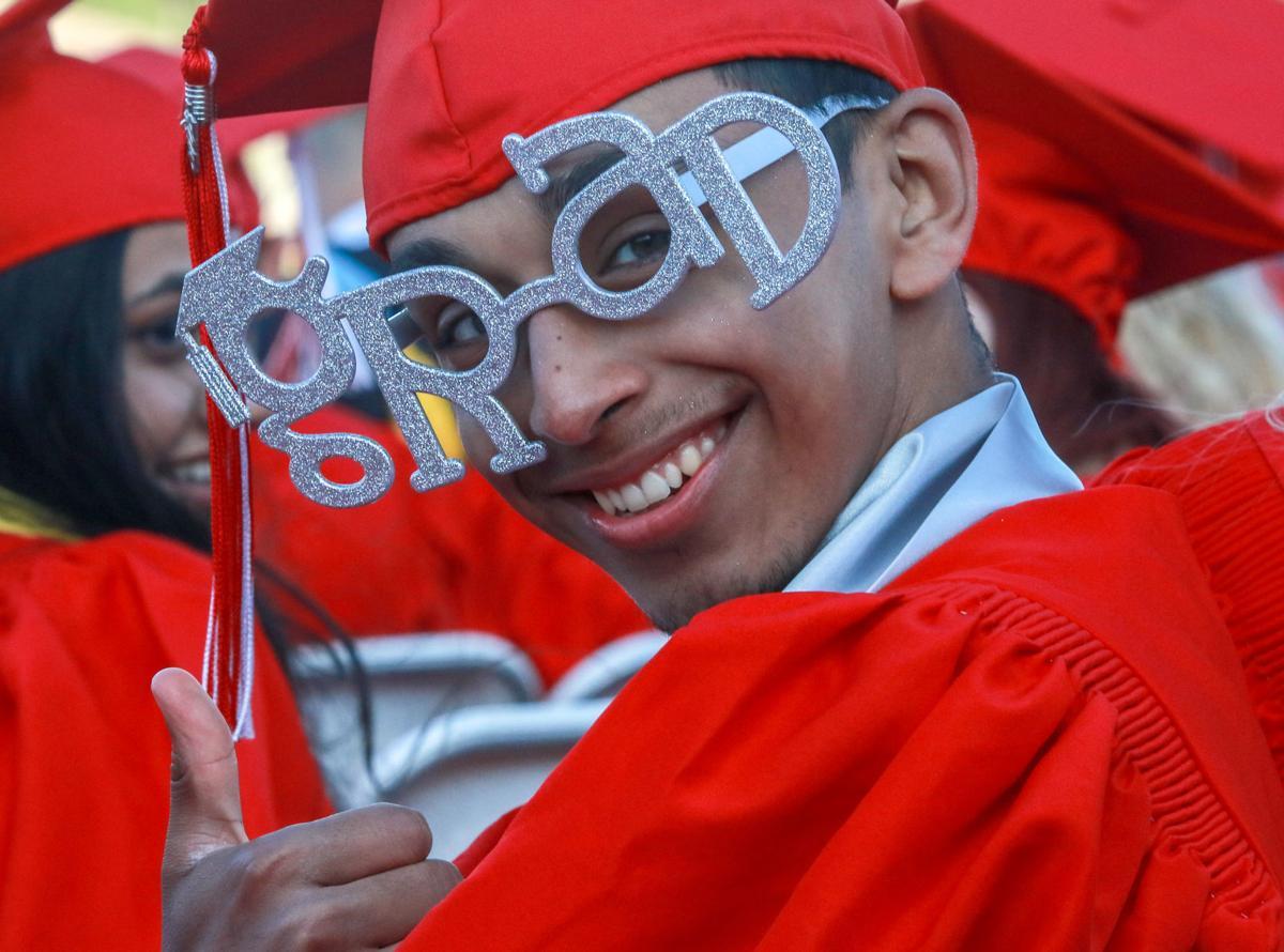 Crown Point High School graduation
