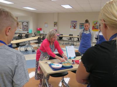 Students get cooking at Hanover Central Middle School