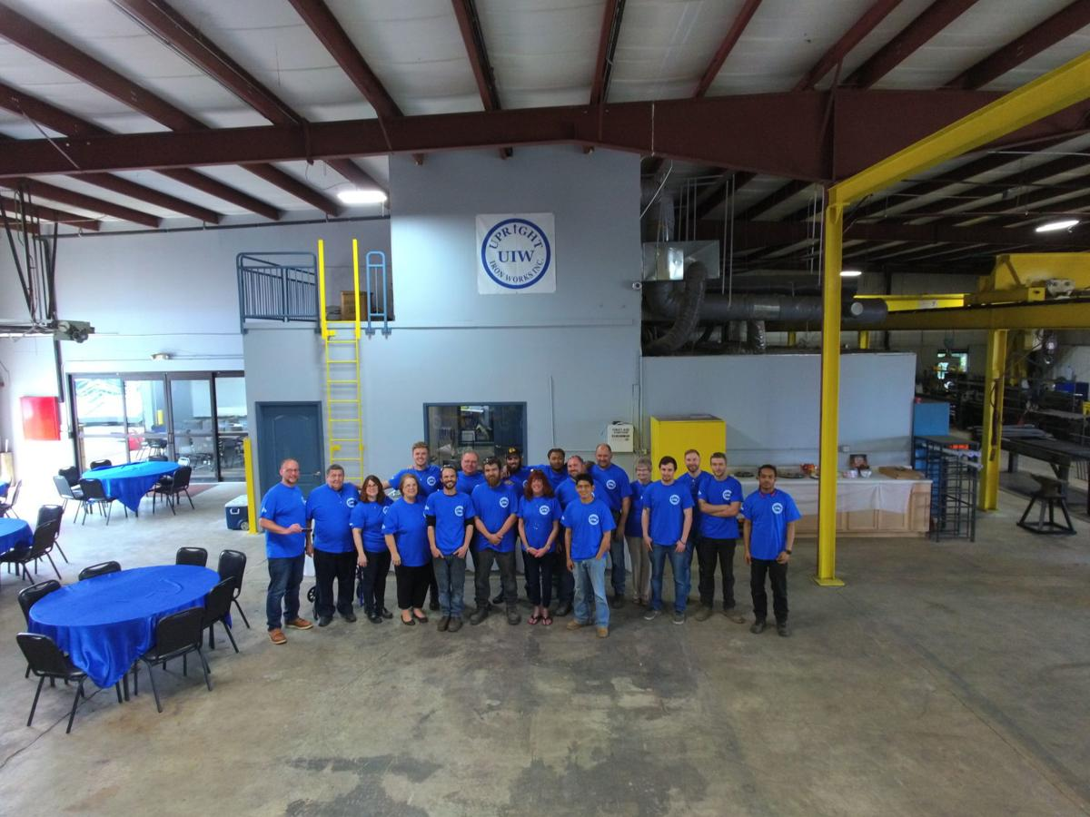 Upright Iron Works triples its space at new Griffith facility