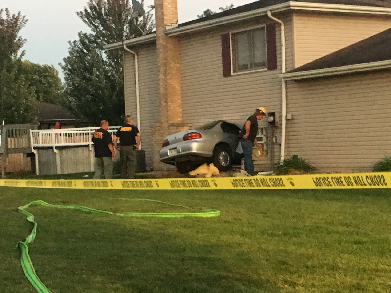 Car Crashes Into Dyer Home, Results In Injuries