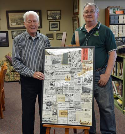 Roby Speedway history preserved at library
