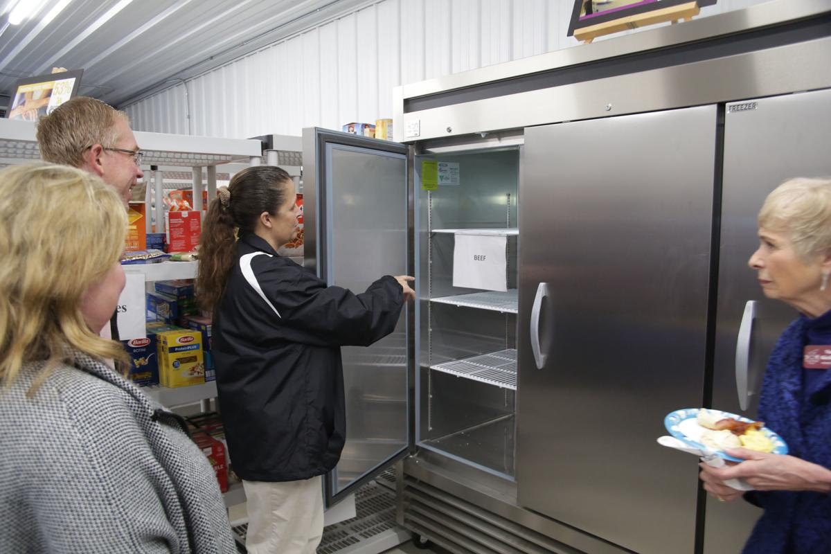 New Hilltop Food Pantry open for business
