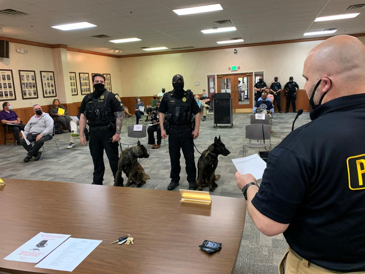 Merillville adds K-9s to police force