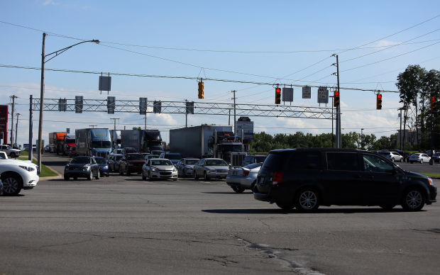 The intersection of U.S. 30 and US 41 in Schererville.