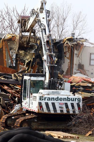 Gallery: Demolition begins on West Calumet Housing Complex