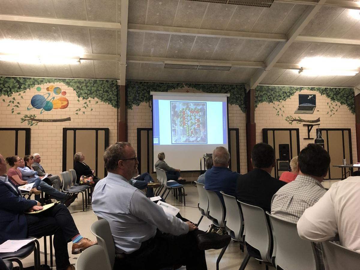 Calkins Hill project goes before zoning board