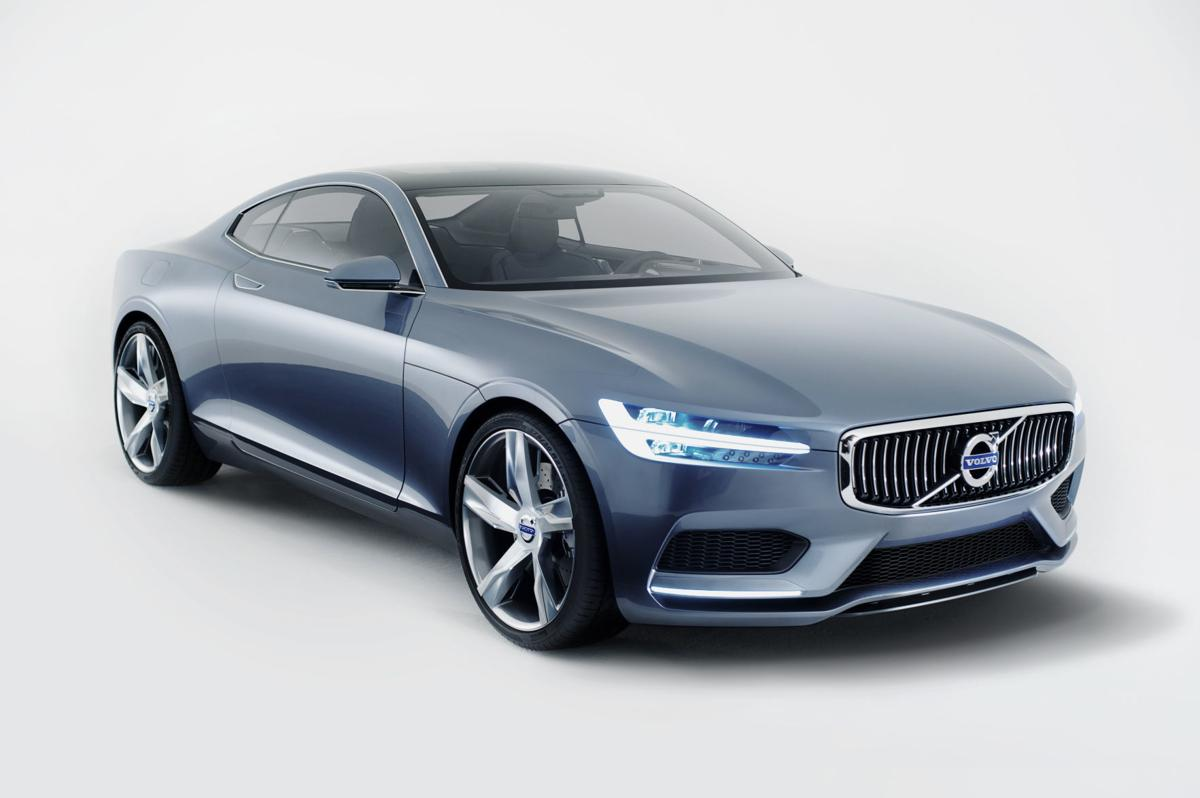 Volvo 'Concept Coupe' show car front