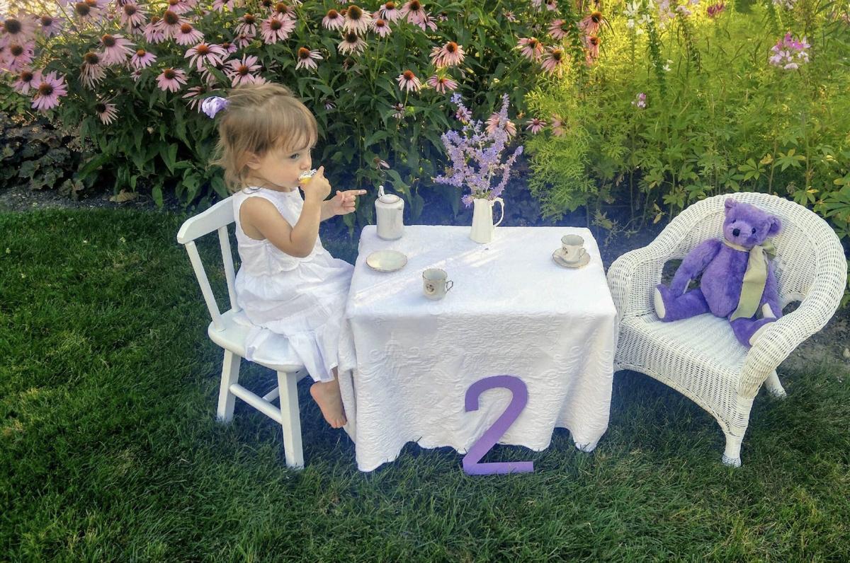 Reese Alexandria Pollock turns 2