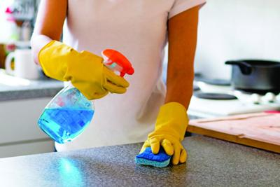Avoid getting sick during spring cleaning
