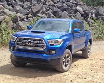 2016 Toyota Tacoma: This model rules mid-size truck market