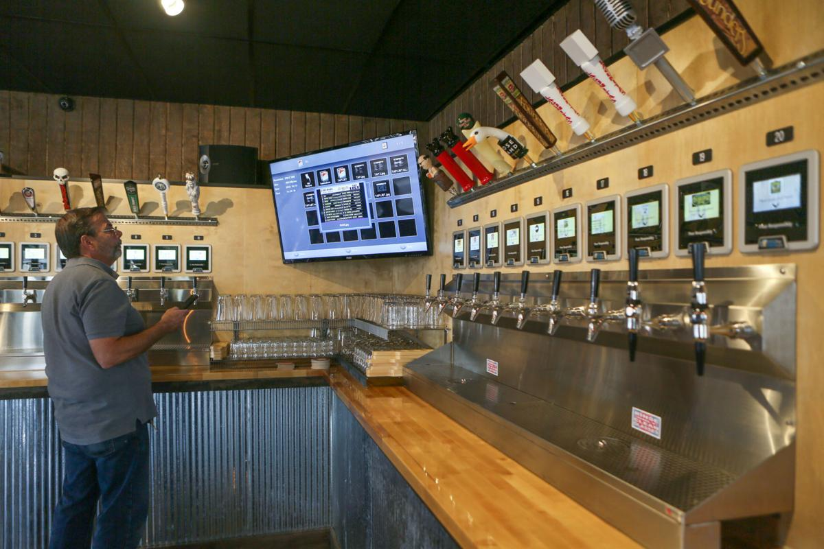Self-serve craft beer bar